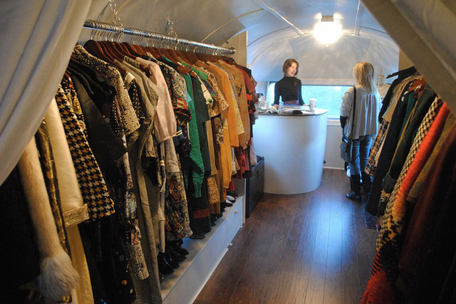 Grey Dog Vintage Boutique Opens In An Airstream Trailer On