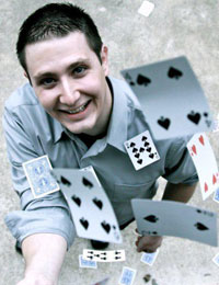 Magician Joey WilliamsAppearing at Powerhouse every Sunday