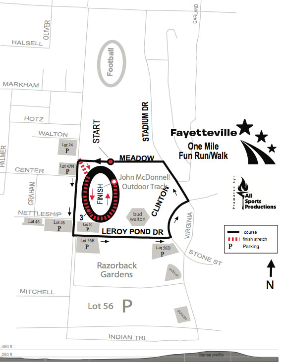 Fayetteville Half Marathon Maps And Street Closures