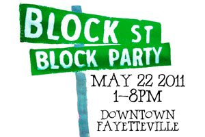 Block Street Block Party planned for May 22 | Fayetteville Flyer