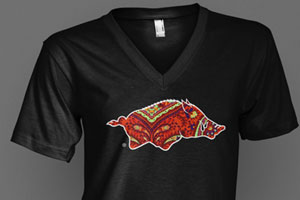 Paisley Pig t-shirts, now available at Zortees