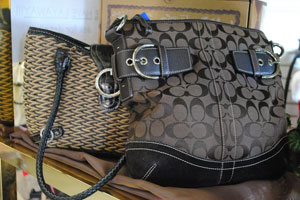 Some cool purses are at Eco Chic Resale.
