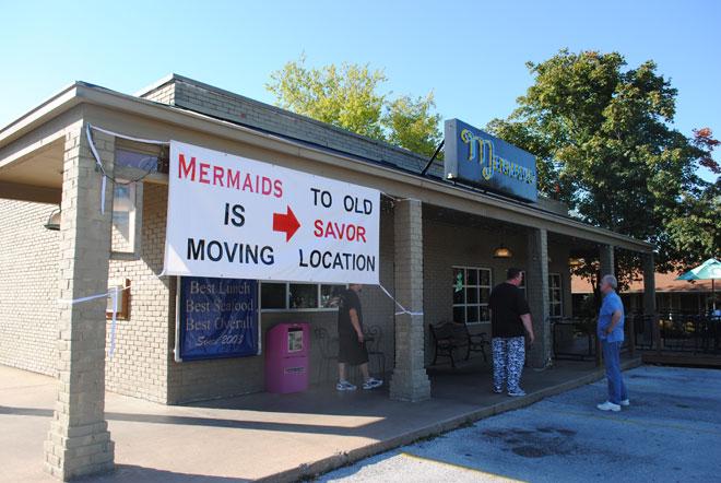 Mermaids Seafood Restaurant moving into Savor building