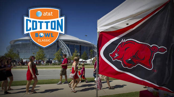 CONTEST CLOSED: AT&T Cotton Bowl: Game Prediction