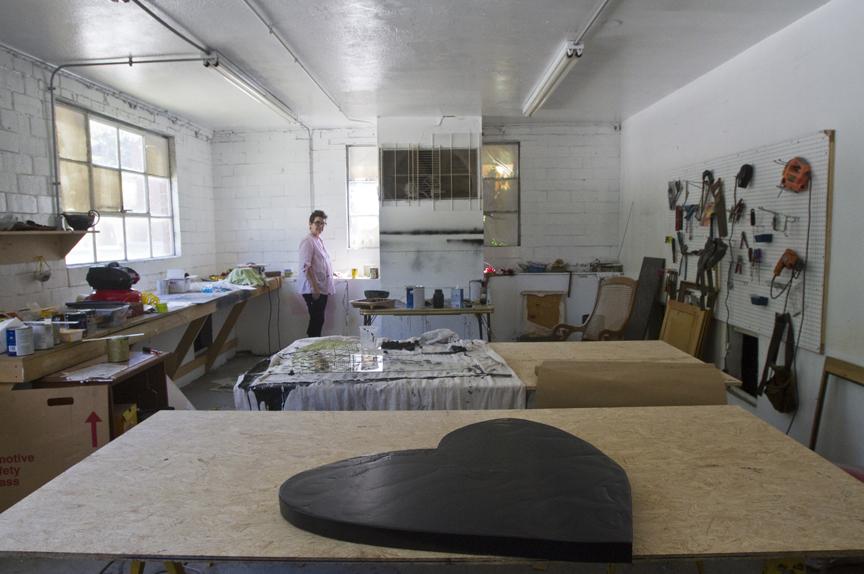 Artist sarah leflar sugar gallery plan one night art show for Craft fair fayetteville ar