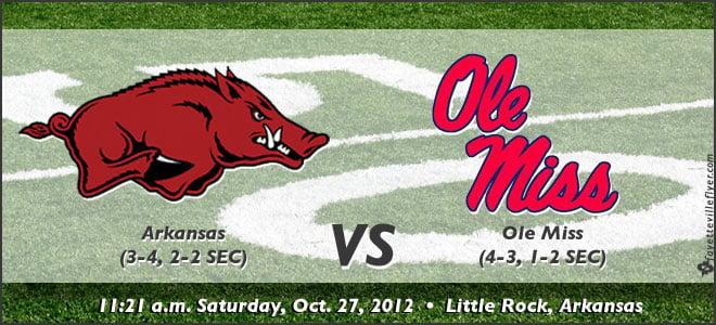 Prediction contest: Arkansas vs. Ole Miss | Fayetteville Flyer