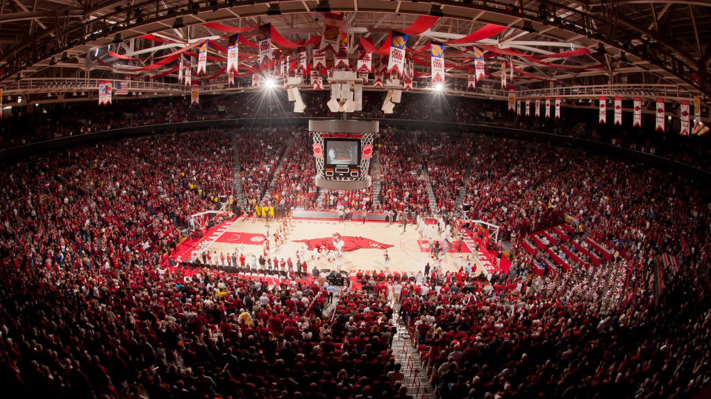 Arkansas Expands Student Section At Bud Walton Arena