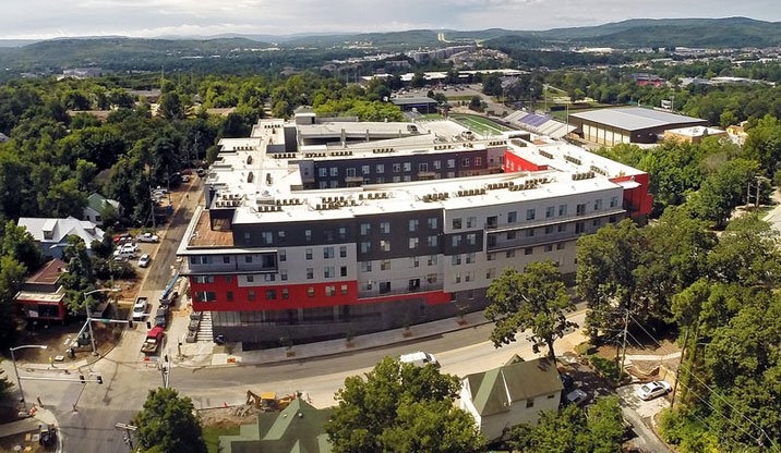 ua growth keeps northwest arkansas apartments full