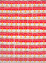 100 Cans by Andy Warhol (1962) from Van Gogh to Rothko: Masterworks from the Albright-Knox Art Gallery
