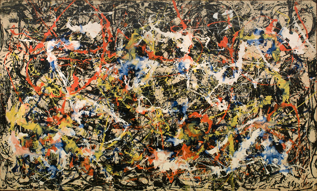 Convergence by Jackson Pollock (1952) from Van Gogh to Rothko: Masterworks from the Albright-Knox Art Gallery
