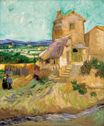 La Maison de la Crau by Vincent van Gogh (1888) from Van Gogh to Rothko: Masterworks from the Albright-Knox Art Gallery
