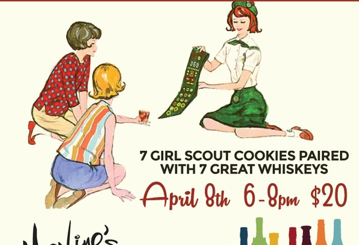 maxine s tap room to host whiskey and girl scout cookie