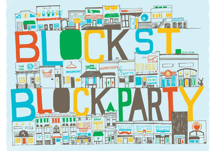 Flyer Guide: Block Street Block Party | Fayetteville Flyer
