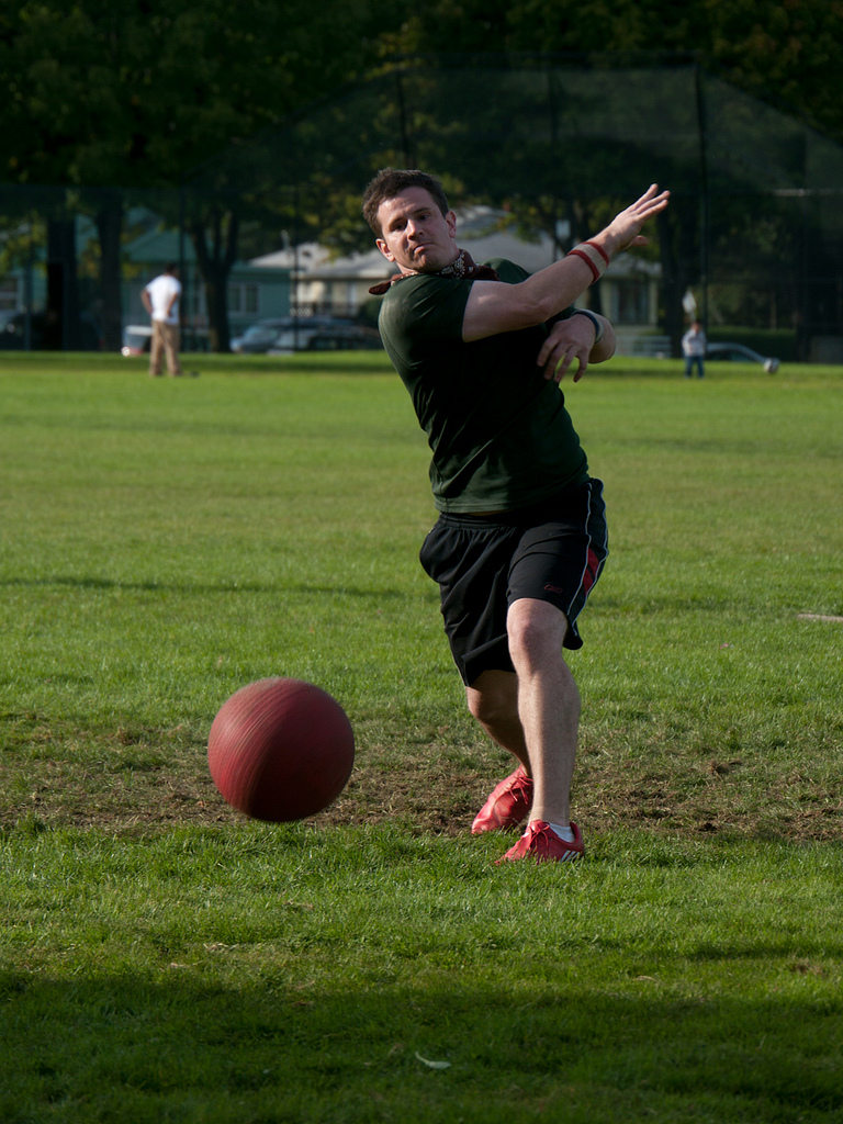 how to play kickball for adults