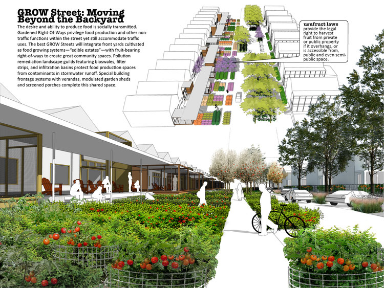 Fayetteville food city design wins american society of for American institute of landscape architects