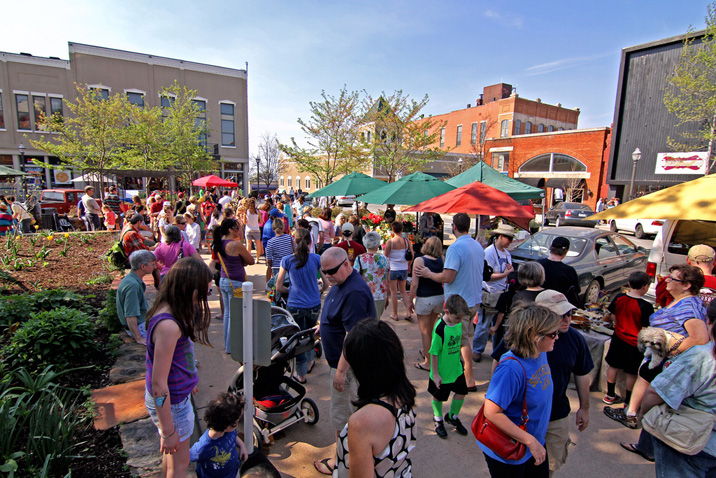fayetteville farmers� market returns to the square
