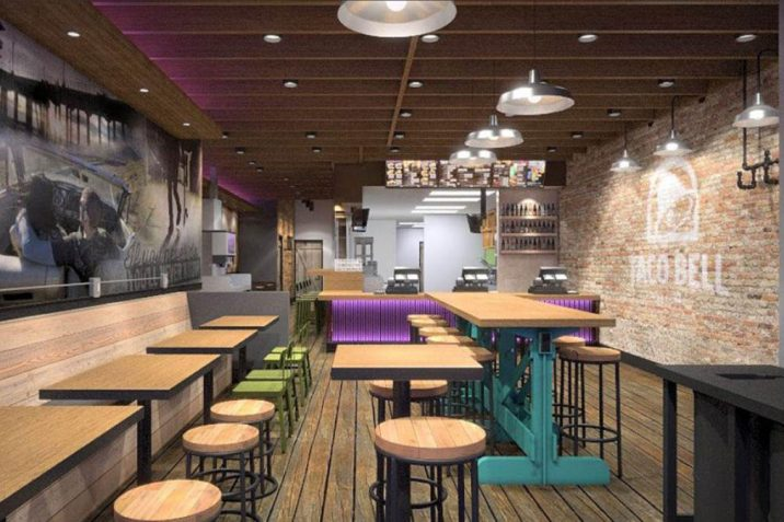 taco bell cantina confirmed for dickson street