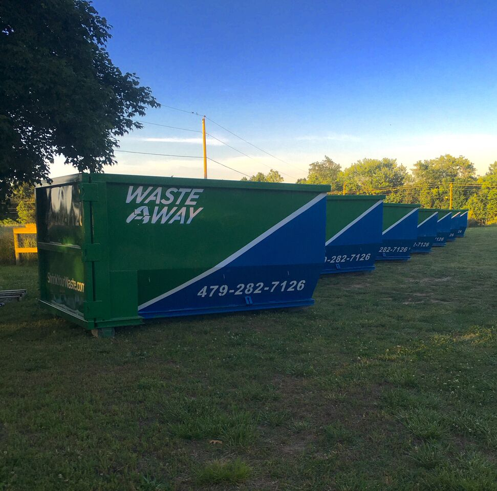 ad cleaning up a property or renovating this summer let waste if you d like to advertise your business in a future promotion similar to this call dustin at 479 387 1002 or send us a message