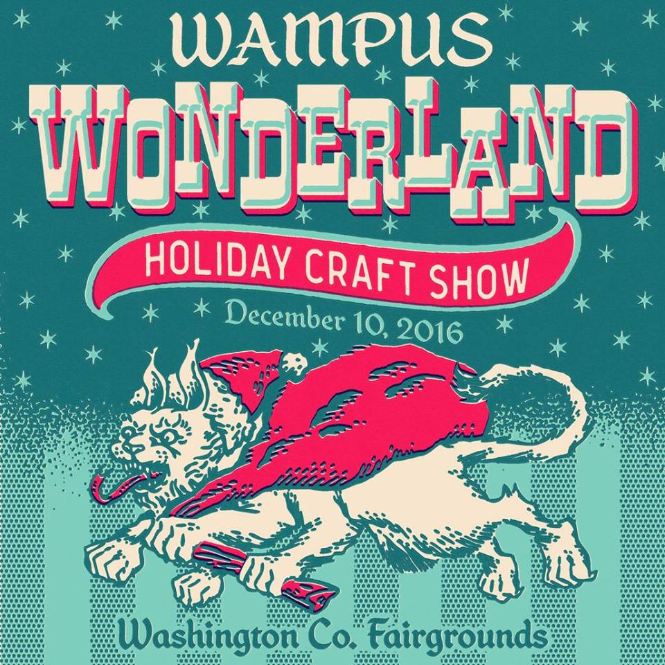 Weekend flyer art garfunkel wampus wonderland dana for Craft fair fayetteville ar