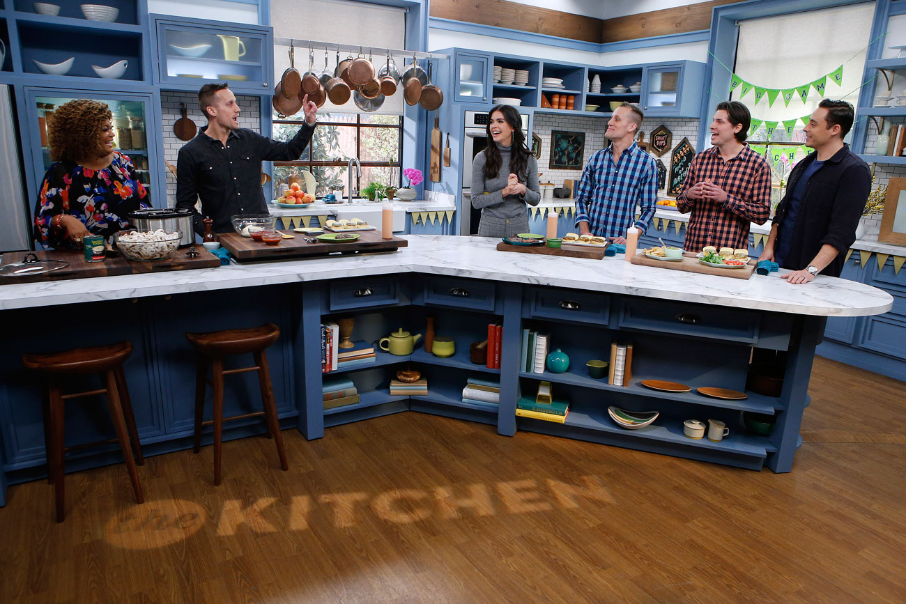 Food Network The Kitchen Burger Show