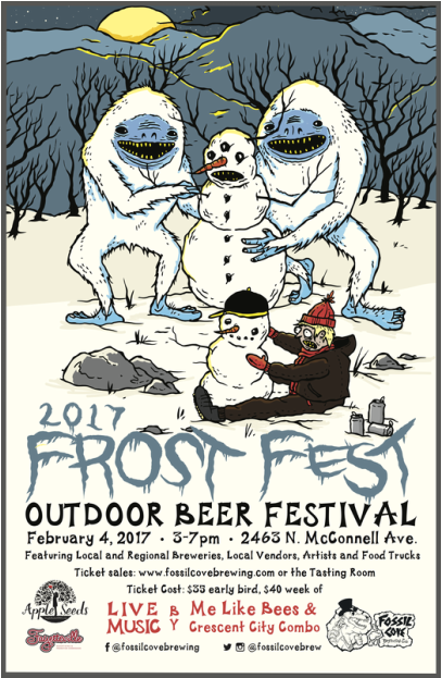 Weekend flyer frost fest galaxy tour guides nature for Craft fair fayetteville ar
