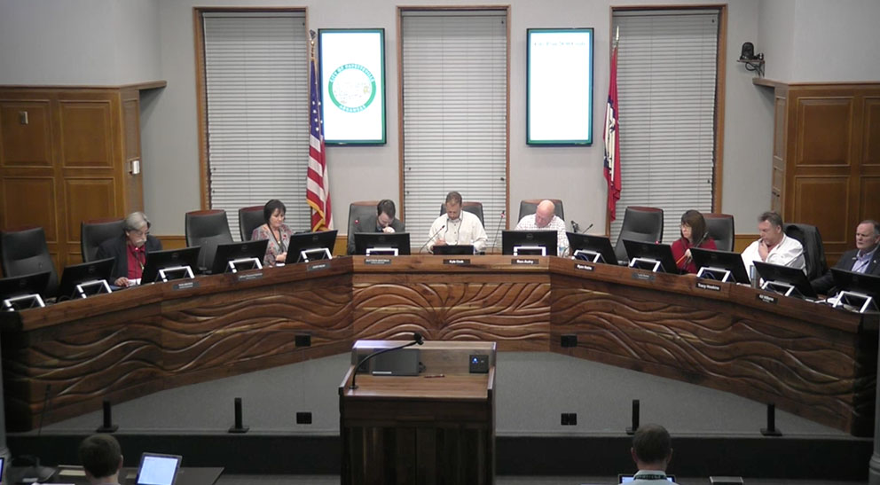 Fayetteville Ar City Council Meeting