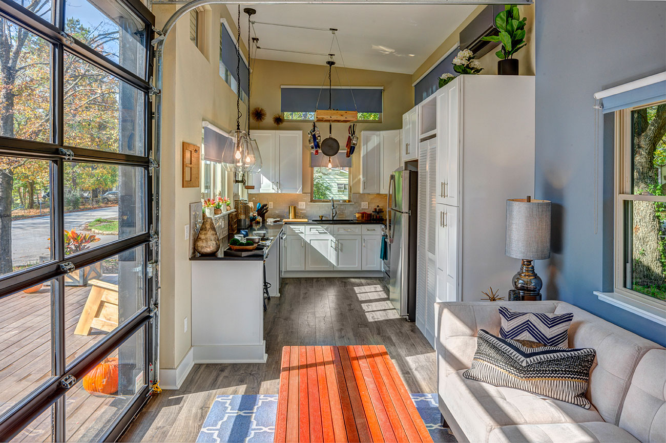 South fayetteville home featured on tiny house nation Pictures of new homes interior