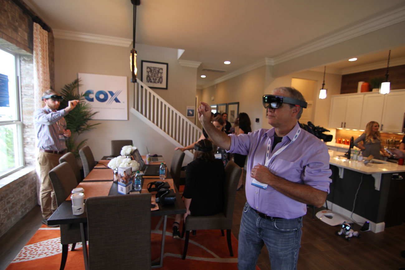 AD: Cox Smart Home Event showcases home of the future