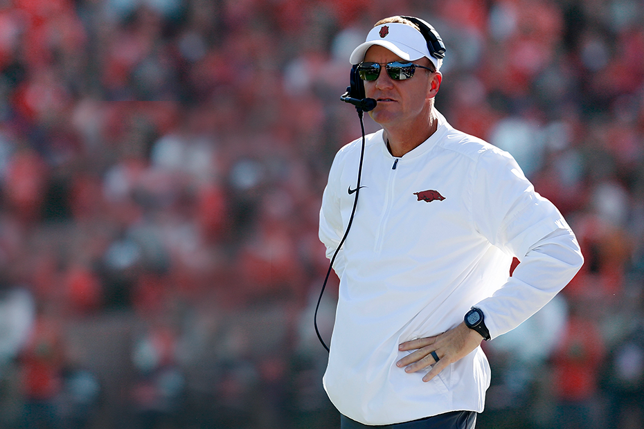Arkansas Hires SMU's Chad Morris As New Football Coach