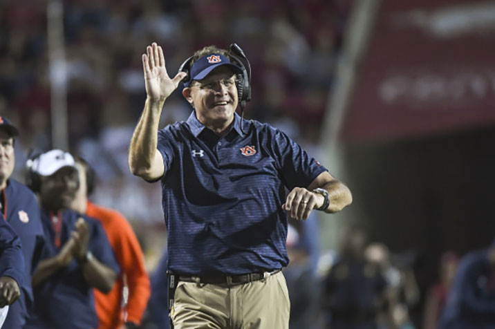 Kerryon Johnson to be game-time decision, Malzahn previews SEC Championship Game