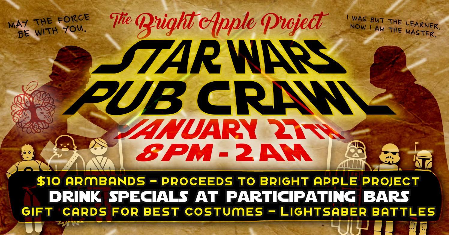 Star Wars Pub Crawl set for Jan  27 on Dickson Street | Fayetteville
