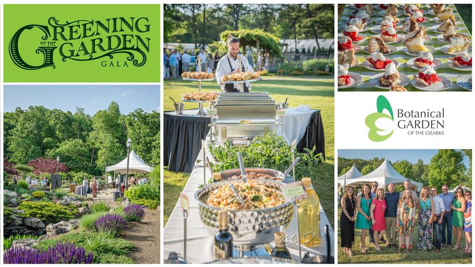 the botanical garden of the ozarks will celebrate the spring season with its 23rd annual greening of the garden gala on friday may 18 from 6 10 pm the - Botanical Garden Of The Ozarks