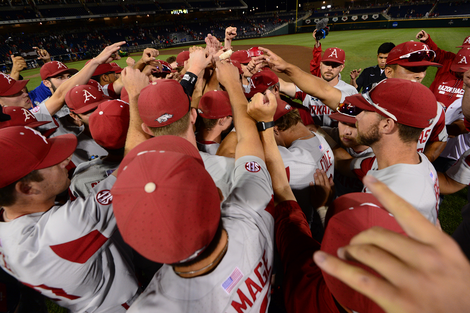 Arkansas Lets The Final Out Drop At The College World Series