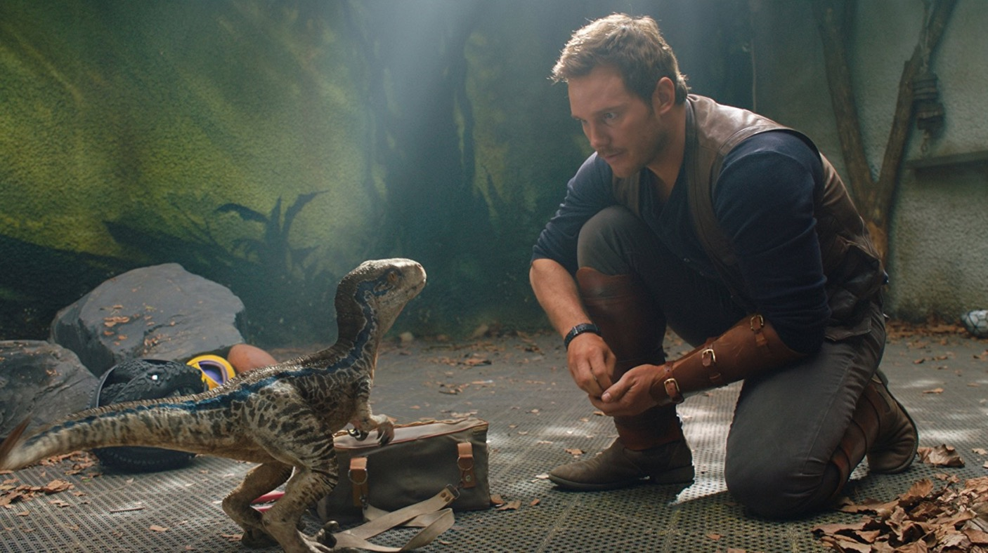 Pratt, stylish direction lift 'Jurassic World: Fallen Kingdom