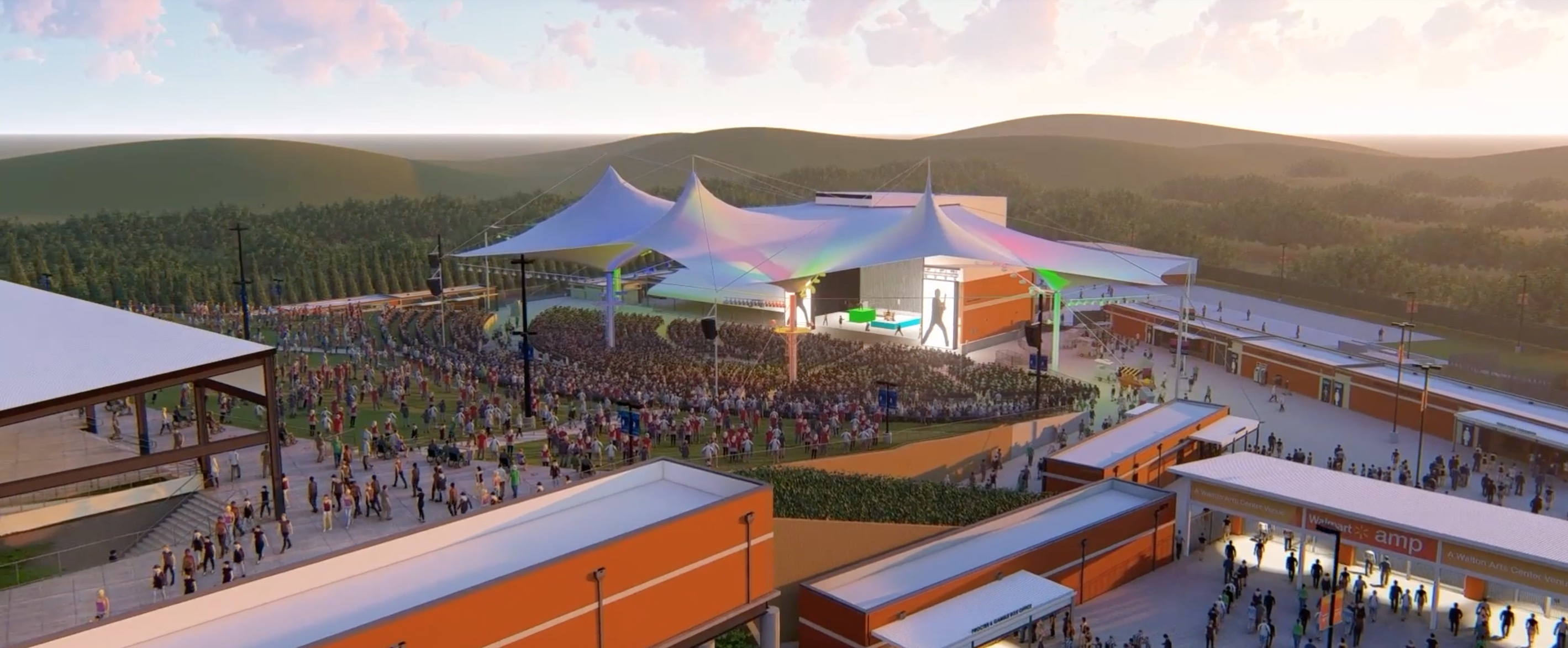 Office Chairs Walmart >> Walmart Arkansas Music Pavilion announces $13.9 million ...