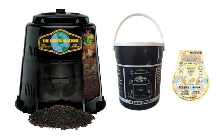 Fayetteville encourages composting by selling half-price compost bin kits