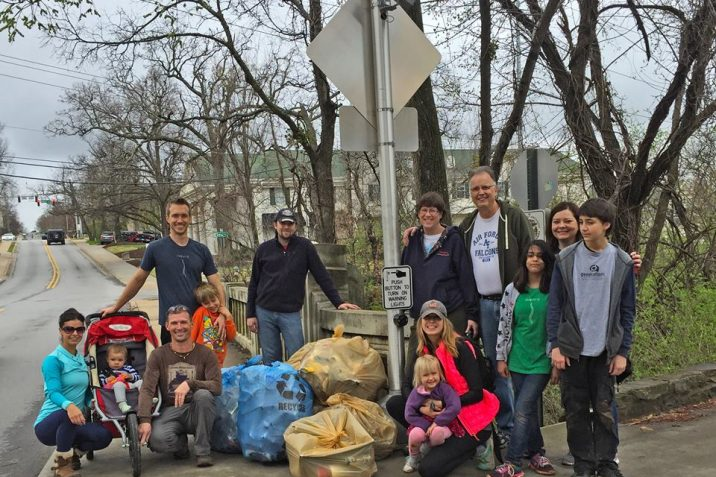 Volunteers needed for Earth Day trail and stream cleanup event