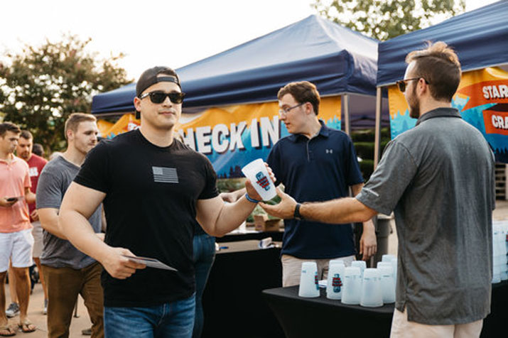 Weekend Flyer: Startup Crawl, Blue Man Group, Razorback football, and more