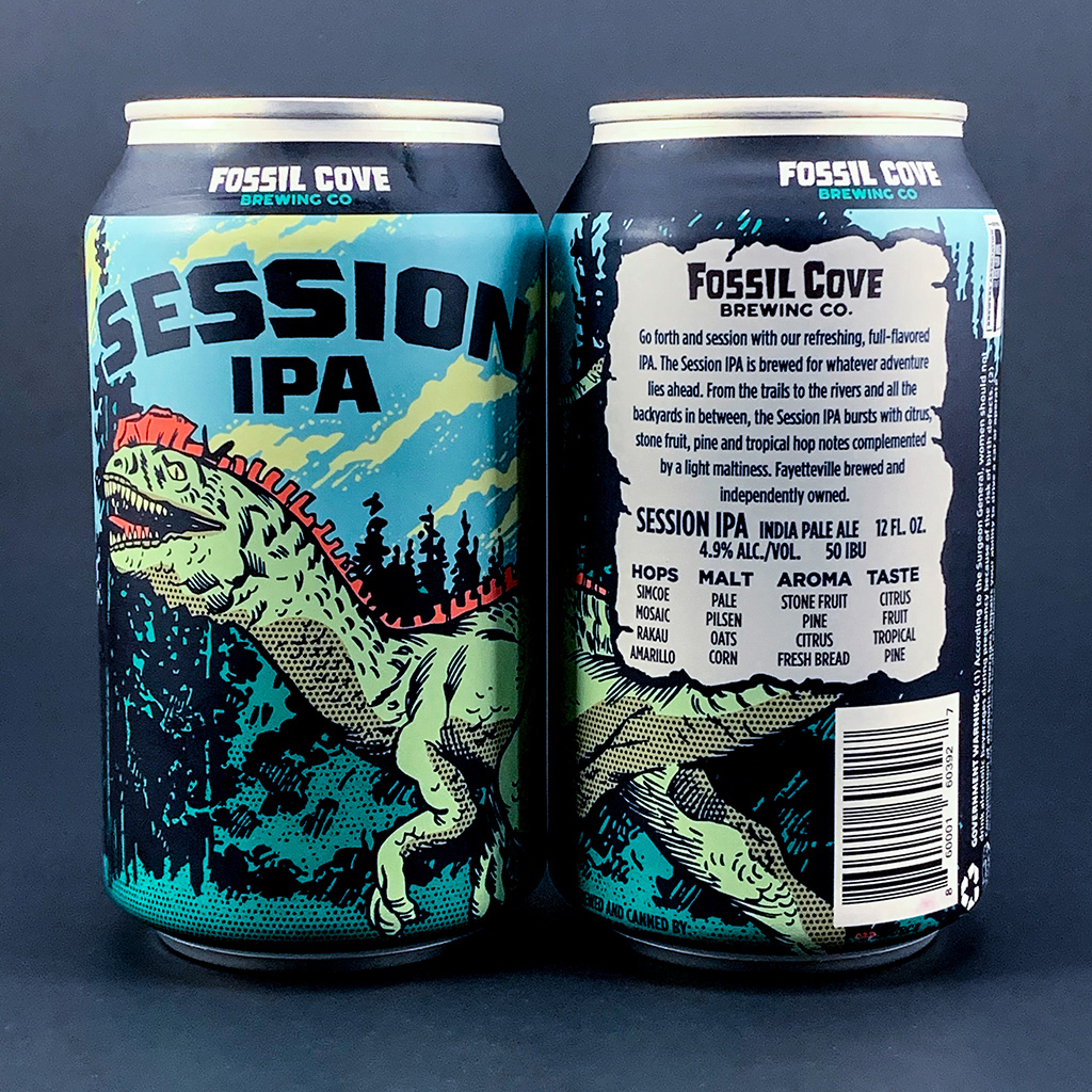 Fossil Cove's Newest Canned Offering Is Big On Hops, Not