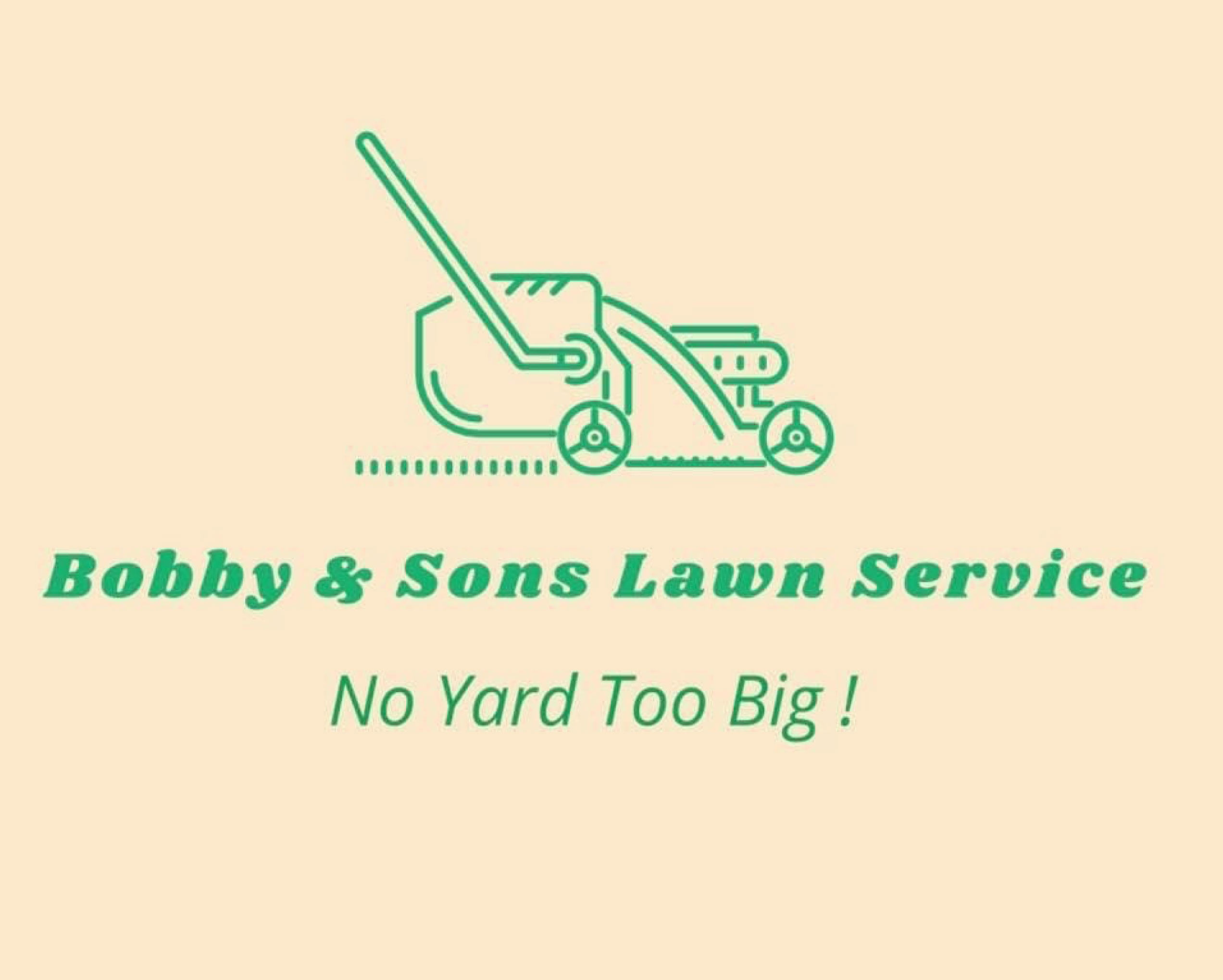 New Businesses And Grand Openings Bobby Amp Sons Lawn